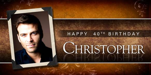 21st birthday banners personalized ; Traditional-Classic-Brown-Birthday-Banner-with-Photo-LG