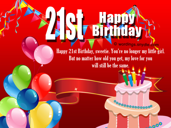 21st birthday greeting card messages ; 21st-birthday-wishes-for-friend