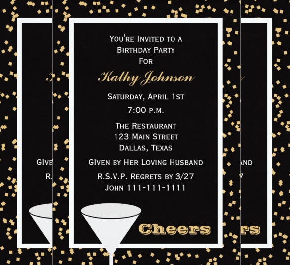 21st birthday invitation templates free printable ; invitations-for-adults-birthday-party-37-adult-birthday-invitation-templates-free-sample-example-printable