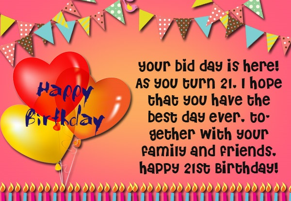 21st birthday picture messages ; 21st-birthday-wishes-Messages-and-greetings-01574