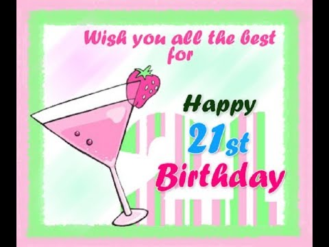 21st birthday picture messages ; hqdefault