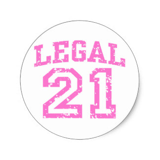 21st birthday stickers ; 21st_birthday_classic_round_sticker-r1bb1bad3f1514f2ba3e7758bf60148c4_v9waf_8byvr_324
