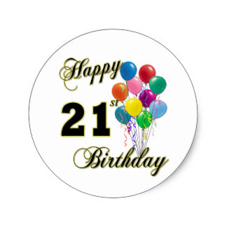 21st birthday stickers ; happy_21st_birthday_with_balloons_classic_round_sticker-r6aa5df3fea544d2488e465bffb623cdf_v9waf_8byvr_324