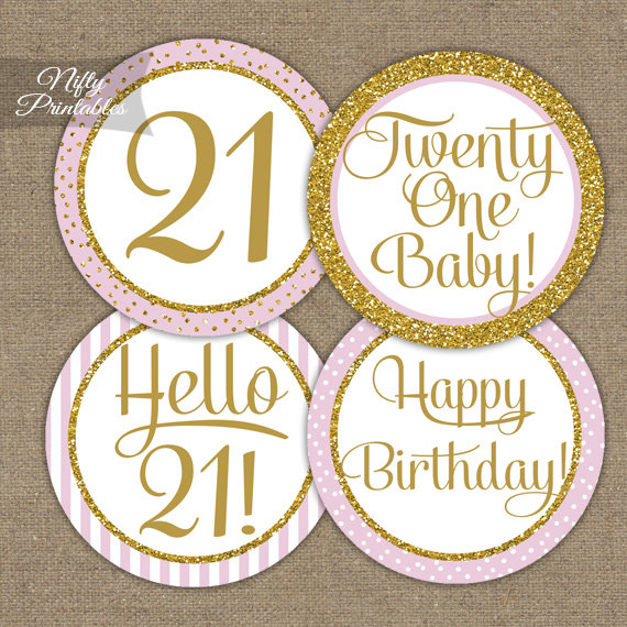21st birthday stickers ; il_570xN