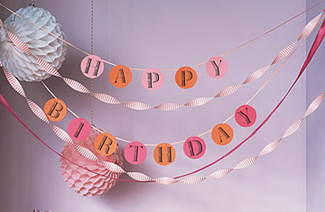 22nd birthday banner ; Free-printable-banner-template
