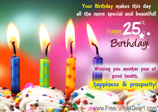 25th birthday messages greeting cards ; 25th-birthday-ecards-greeting-cards-25-birthday-wishes