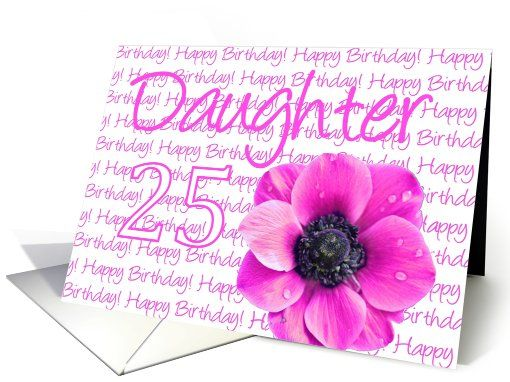 25th birthday messages greeting cards ; ac0265758a439cc1b224ee4418903635