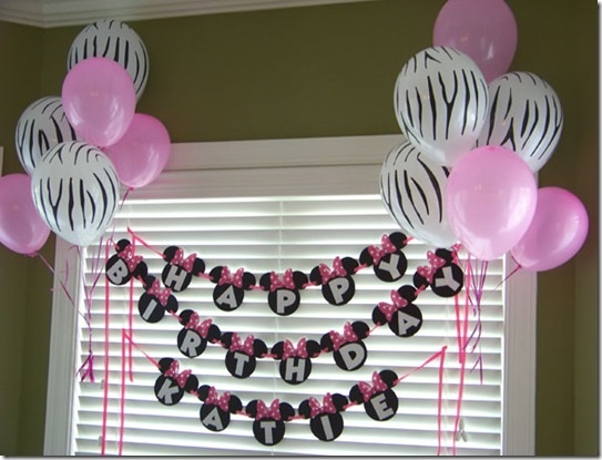 2nd birthday banners and balloons ; 0e88eae05d84c38cd735394e2fe5a4b0--minnie-birthday-birthday-banners