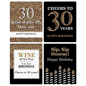 30th birthday labels ; r1OH8LF6QYyi
