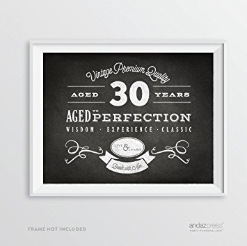30th birthday signs to print ; 61VD9wUnuTL