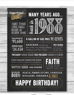30th birthday signs to print ; e3d28ed2e0010993c3bd84bf31241b3a