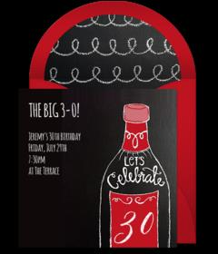 30th birthday wine bottle labels ; 56e33118196c6f27a8005df7-1515797016087