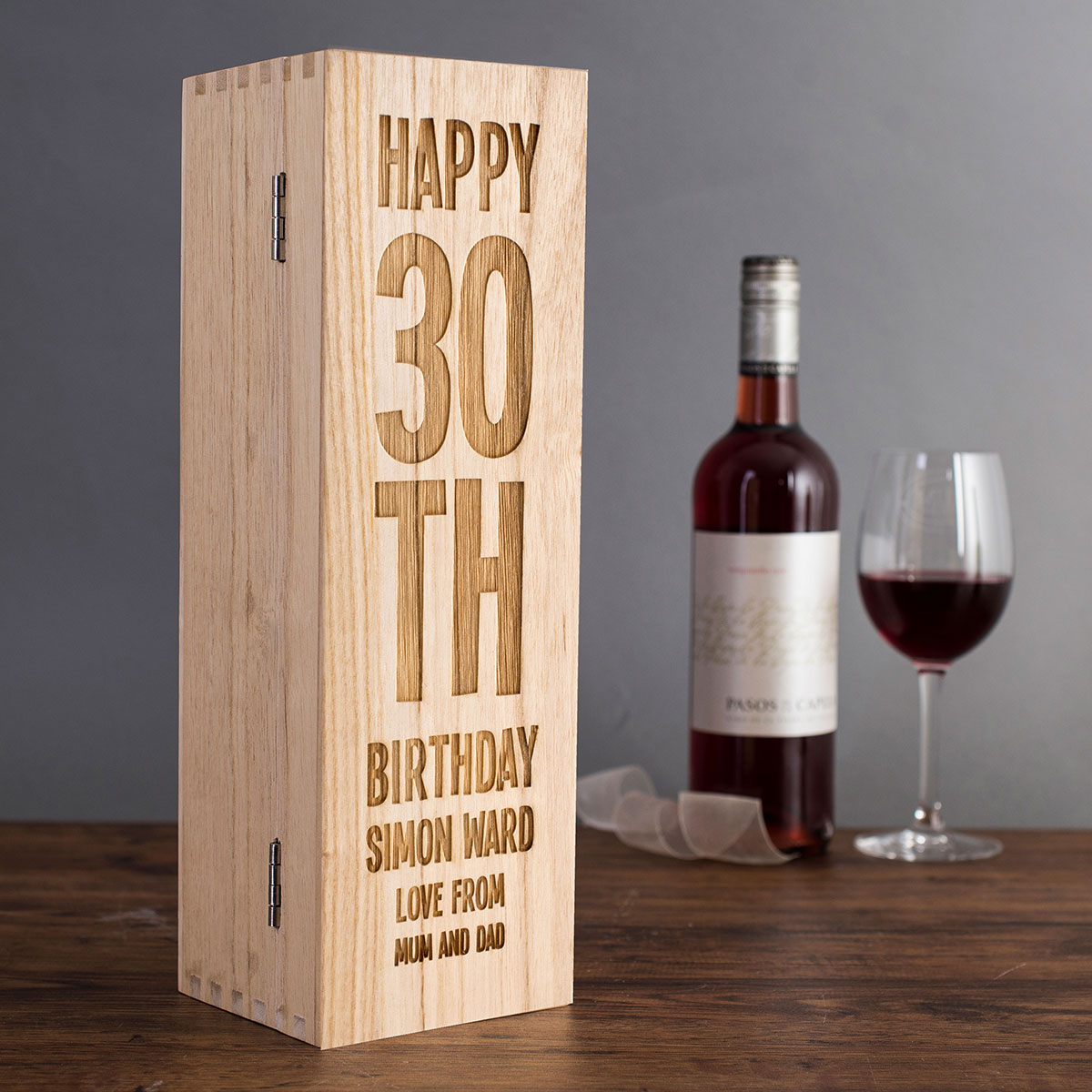 30th birthday wine labels ; fullsize_a