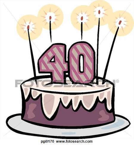 40th birthday clipart images pictures ; 40-birthday-clipart-12