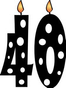 40th birthday clipart images pictures ; 8ec14617426b459a05ee865045a5ac12