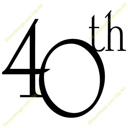 40th birthday clipart images pictures ; free-clipart-40th-birthday-1