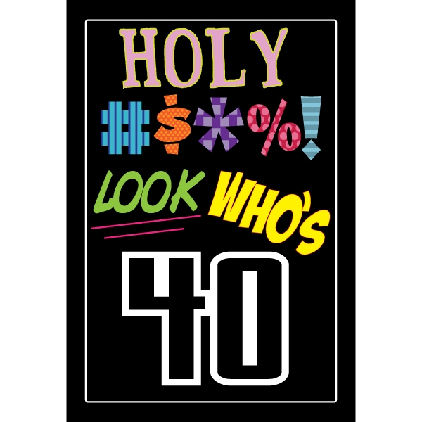 40th birthday clipart images pictures ; n1278084