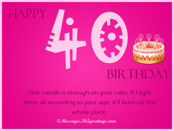 40th birthday greeting card messages ; 40th-birthday-wishes-for-friends