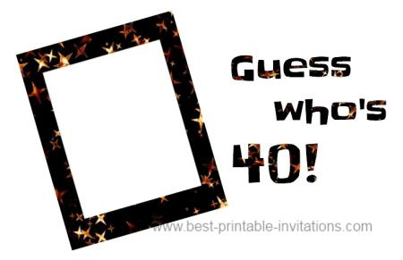 40th birthday invitation templates free printable ; 40th-birthday-invitation-ideas-1