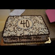 40th birthday sheet cake ; 40th-birthday-sheet-cake-ideas_117712