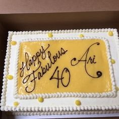 40th birthday sheet cake ; 58338e979eada4ba91a245e993014356--birthday-sheet-cakes-th-birthday