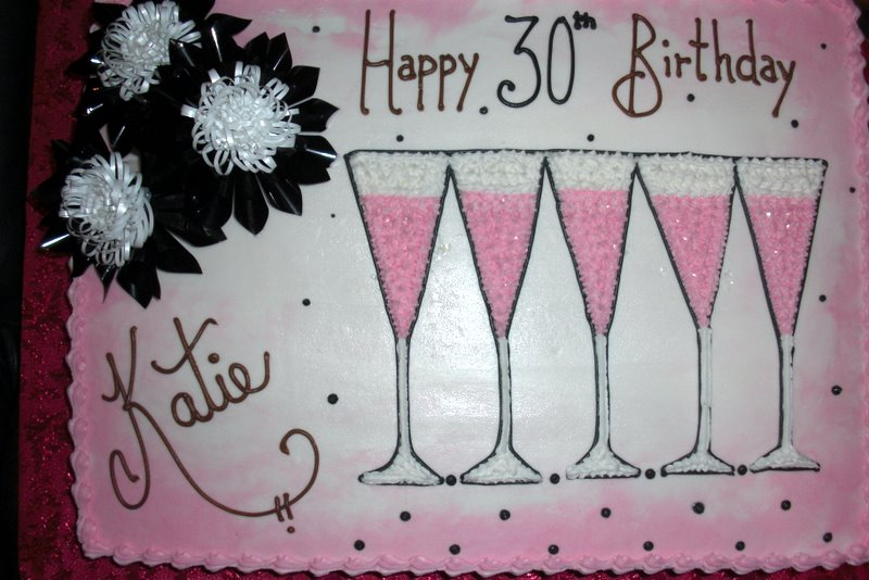 40th birthday sheet cake ; cimg1244