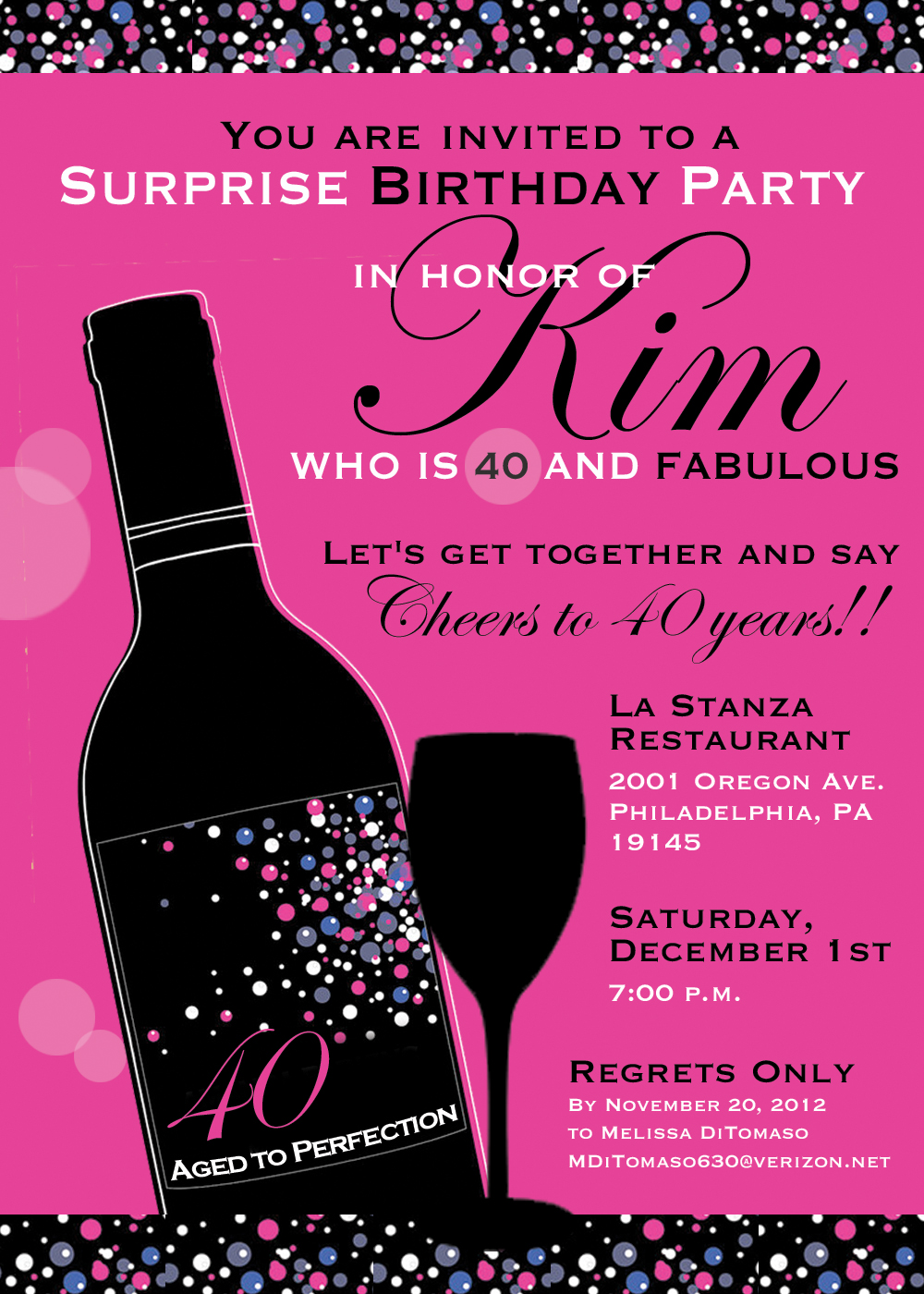 40th birthday wallpaper ; Attractive-40Th-Birthday-Party-Invitations-Which-You-Need-To-Make-Birthday-Invites