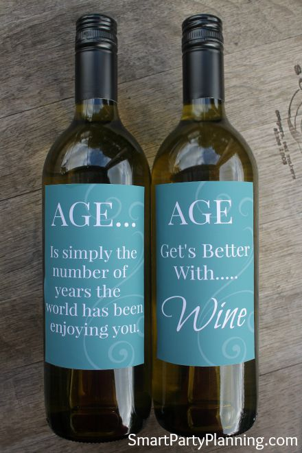 40th birthday wine label ideas ; 259ce0e3a7ffd2b315ceeded876a595a