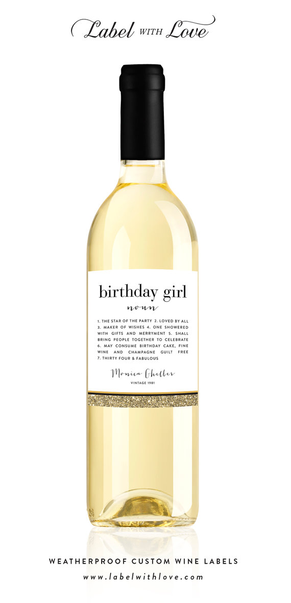 40th birthday wine label ideas ; 47b4d15cb0474f1361ef6a931562e915