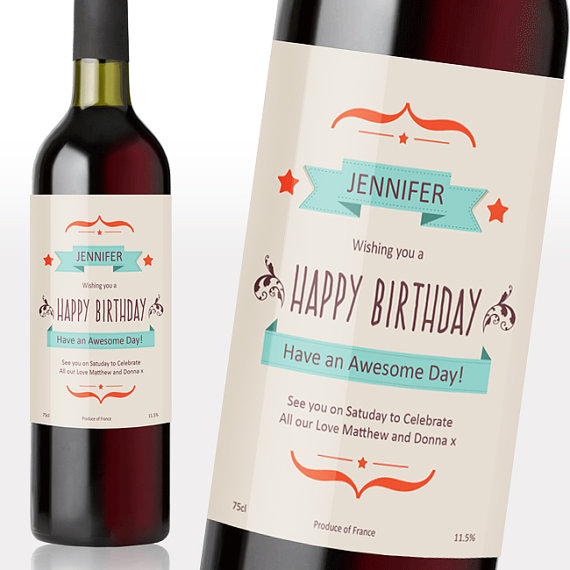 40th birthday wine label ideas ; 8e8853ad14f879795b39b3aabb75926d