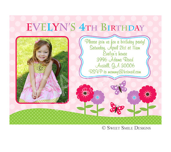 4th birthday invitation quotes ; 4Th-Birthday-Invitation-Wording-with-magnificent-appearance-8