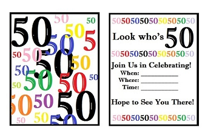 50th birthday border ; 50th-birthday-party-50th-birthday-clip-art-free-393_254
