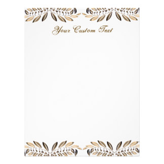 50th birthday border ; elegant_gold_leaves_border_custom_paper-rcf5a562d1be34326b556b4b6776331c2_vg63g_8byvr_324