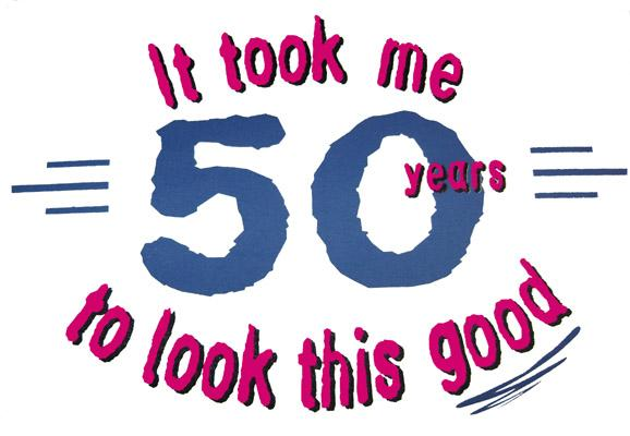 50th birthday clipart funny ; 1565615