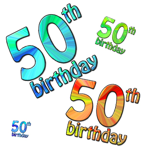 50th birthday clipart funny ; 1565622