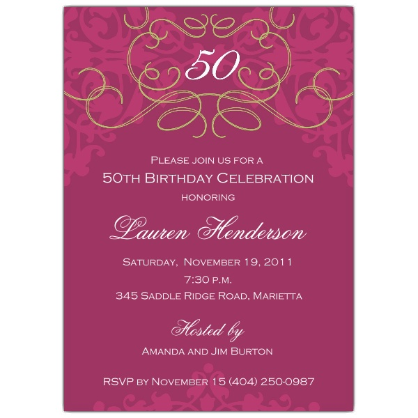 50th birthday invitation quotes ; 50Th-Birthday-Invitation-Wording-should-inspire-you-to-make-perfect-invitations-designs