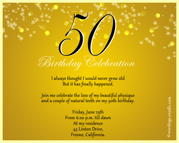50th birthday invitation quotes ; 50th-birthday-celebration-invitation