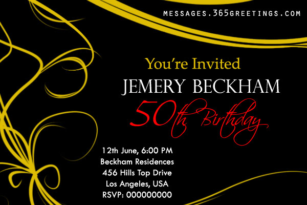 50th birthday invitation quotes ; 50th-birthday-party-invitation