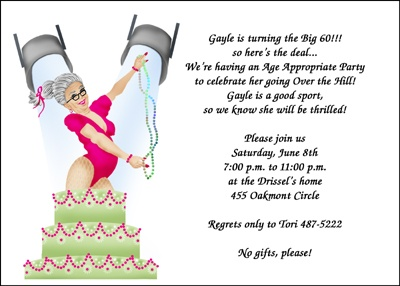 50th birthday invitation quotes ; 7222BD-Over-the-Hill-Party-Invitations