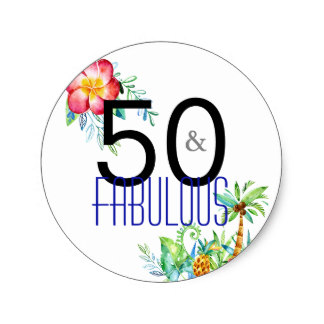50th birthday stickers ; 50_and_fabulous_tropical_50th_birthday_stickers-r4c70b71f9c9e47deaa7930c19e7f2cef_v9waf_8byvr_324