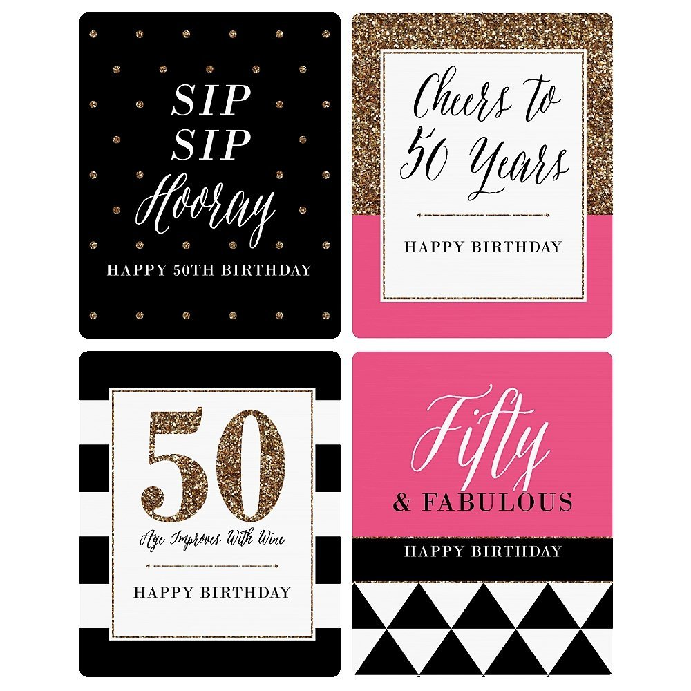 50th birthday wine bottle labels ; 29f5d35f19273520e5474ead653ef3ff