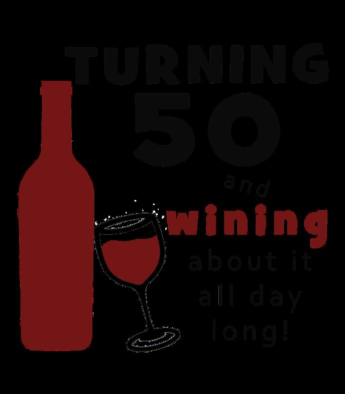 50th birthday wine labels ; 14864510830704431253351311