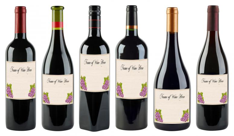 50th birthday wine labels ; 218816-775x450-wine-bottles-with-labels
