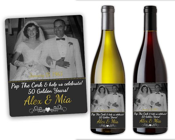 50th birthday wine labels ; c47cf374600d60424ebcbbe586aa457a