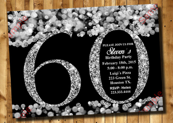 60th birthday invitation templates free printable ; Surprise-60th-Birthday-Invitation-Customized