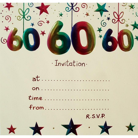 60th birthday invitation templates free printable ; free-printable-60th-birthday-invitations-for-men