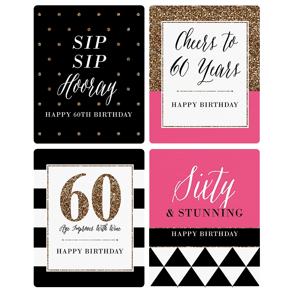 60th birthday wine bottle labels ; 52cc0395-bf85-44b3-b0c7-9eadf352d0c5_1