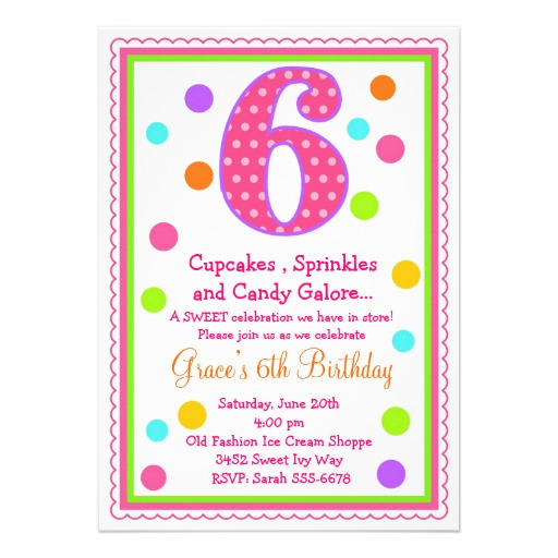 6th birthday invitation quotes ; Appealing-6Th-Birthday-Invitation-Wording-As-Birthday-Party-Invitations