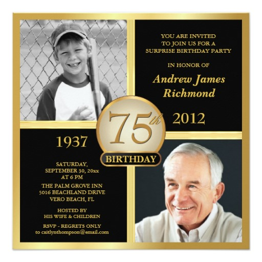 75th birthday invitation cards printable ; 75th-birthday-invitations-combined-with-your-creativity-will-make-this-looks-awesome-1