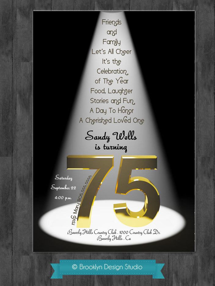 75th birthday invitation cards printable ; Brilliant-75Th-Birthday-Party-Invitations-Which-You-Need-To-Make-Birthday-Invitation-Cards